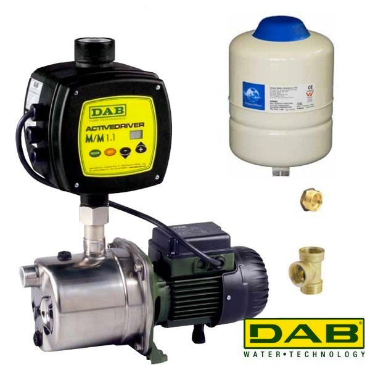 DAB EuroInox 40/80M + DAB Active Driver
