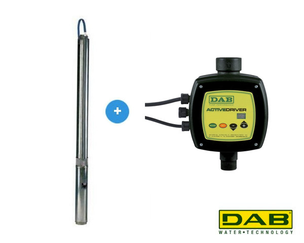 DAB S4D 13M KIT + Active Driver Bronpomp