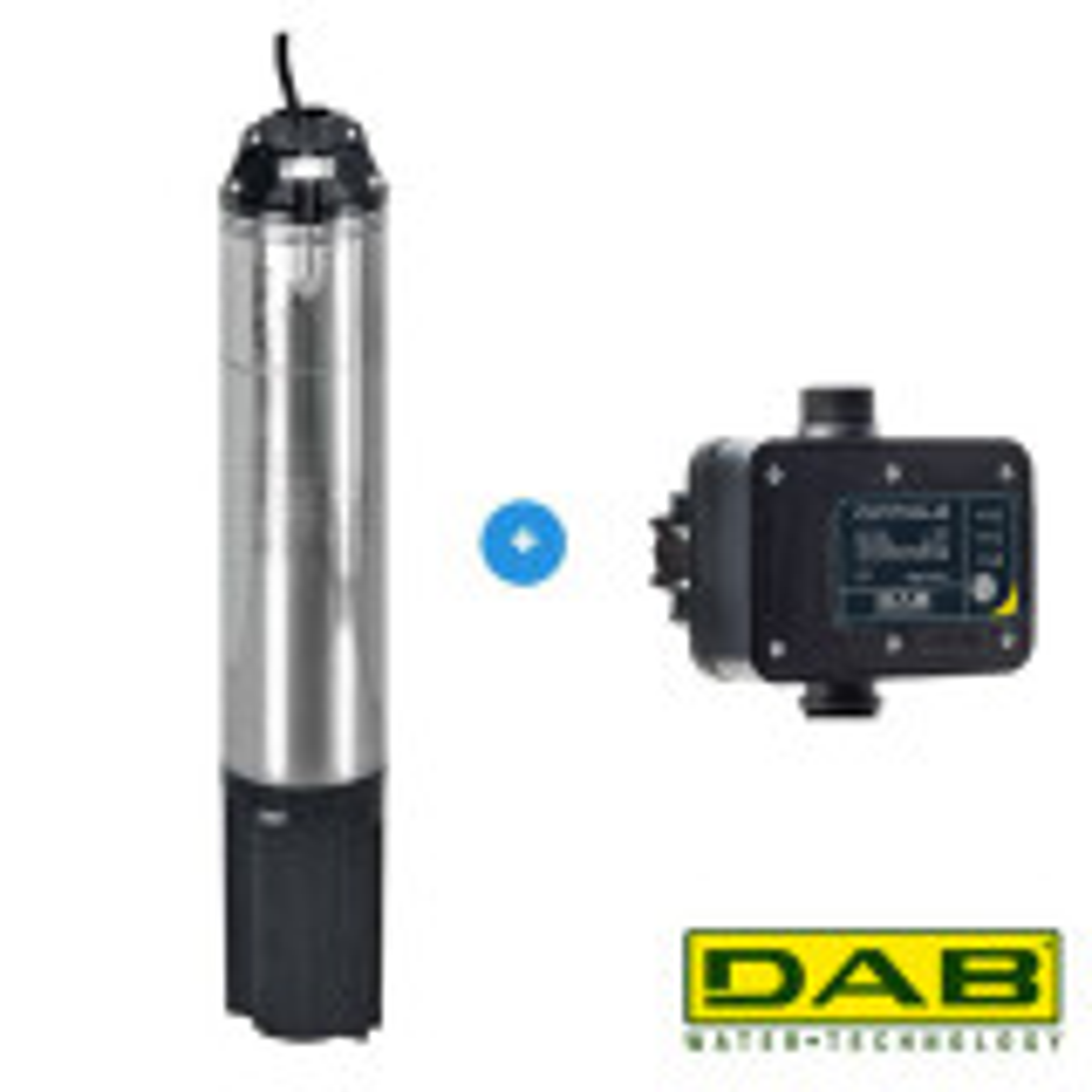 DAB Idea 100M + DAB Control-D Bronpomp