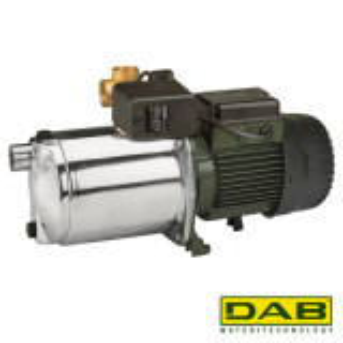 DAB EuroInox 30/80 M-P Hydrofoorpakket