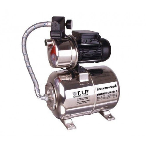 HWW INOX 4350 Hydrofoorpomp + filter