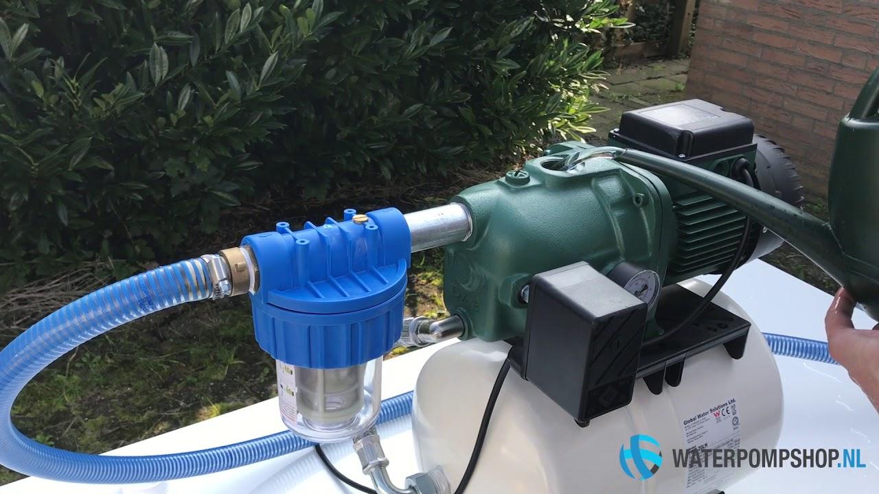 Hoe werkt een hydrofoor?